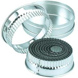 BISCUIT CUTTER SET-LARGE CRINKLE