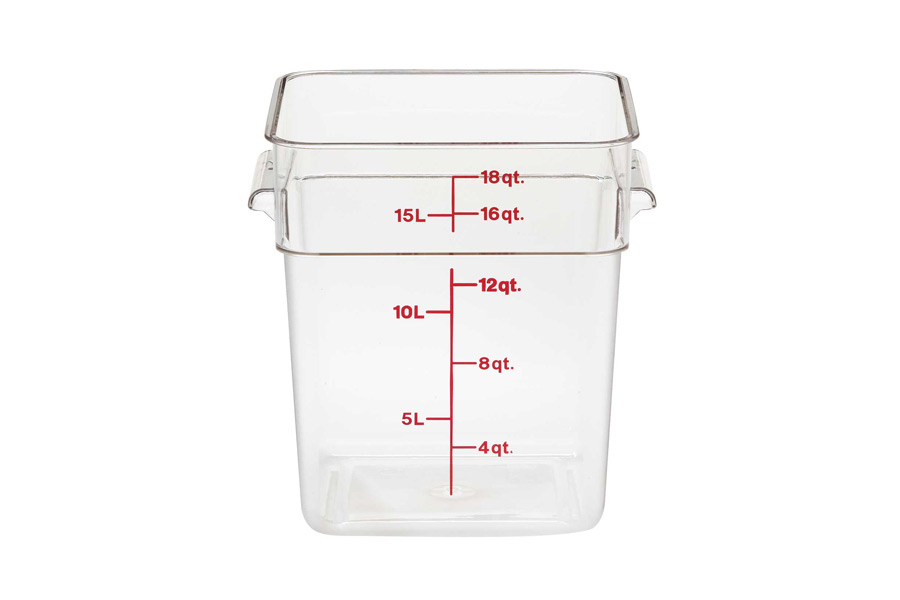 CAMBRO CONTAINER 17.2lt
