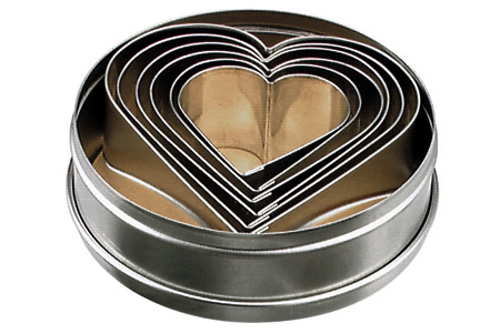 BISCUIT CUTTER SET-HEART