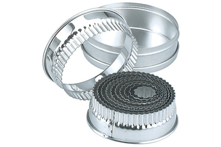 BISCUIT CUTTER SET-CRINKLE