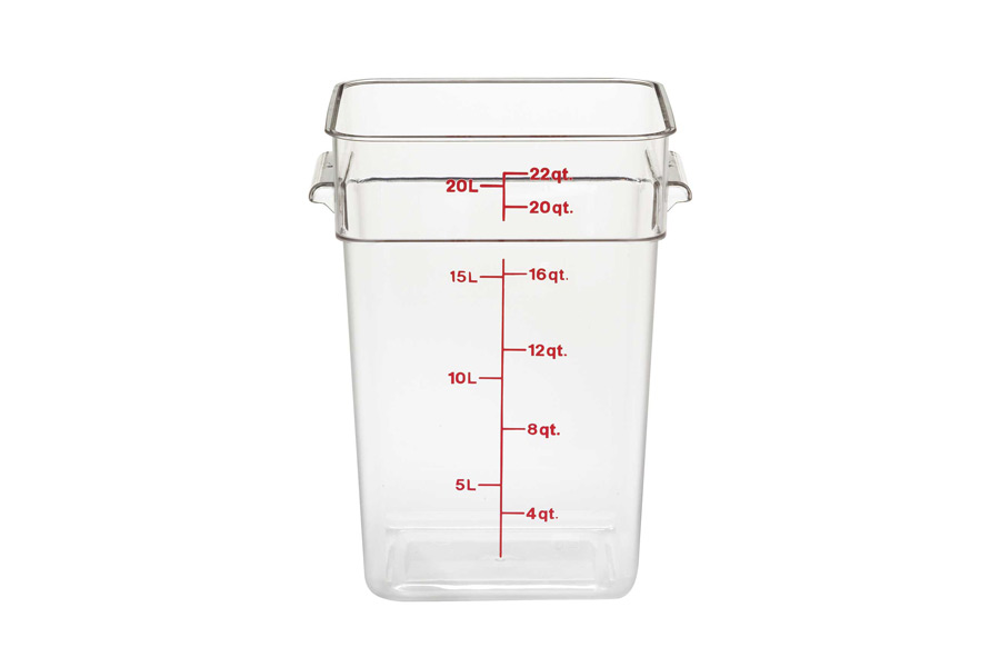 CAMBRO CONTAINER 20.8lt