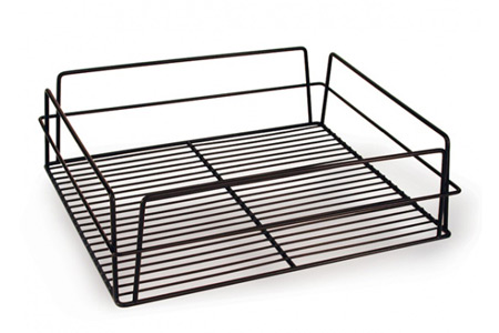 GLASS BASKET-435X355CM WHITE