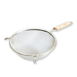 STRAINER 16cm-WOODEN HANDLE