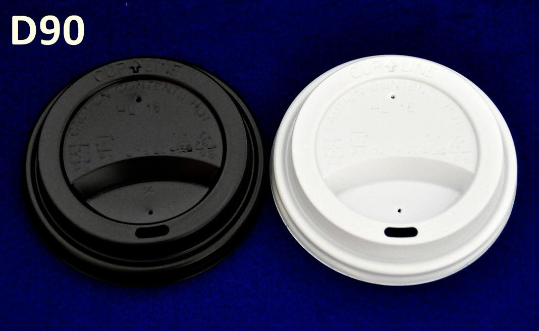 WHITE LID TO SUIT 12oz CUP