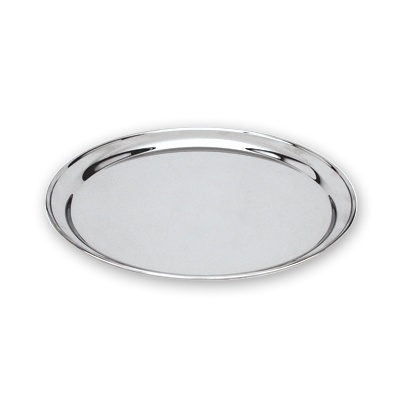 ROUND TRAY - STAINLESS STEEL