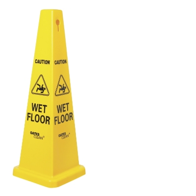 WET FLOOR-CONE SIGN