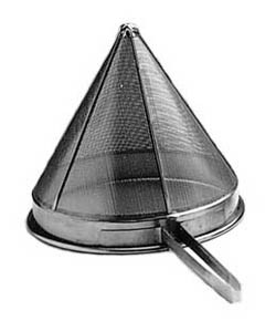 CONICAL STRAINER-FINE MESH 25cm