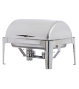 POLISHED ROLL TOP CHAFER