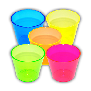 FLURO SHOT GLASSES