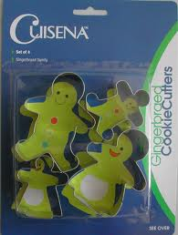 BISCUIT CUTTER SET-GINGER BREAD FAMILY