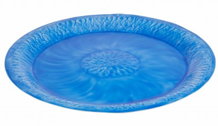 ZEPEL TIN PLATTER 51cm - BLUE