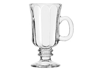 IRISH COFFEE GLASS-FLUTED 2544ML