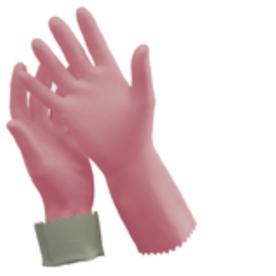 RUBBER GLOVES SIZE 8