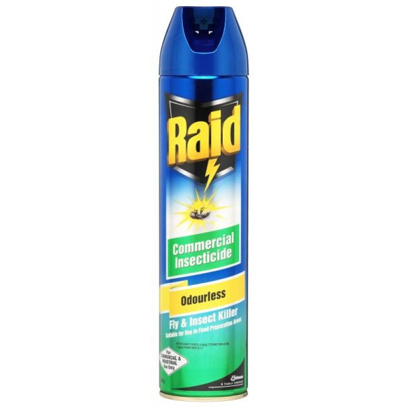 RAID ODOURLESS INSECTICIDE