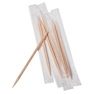 WRAPPED TOOTHPICKS