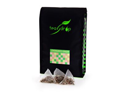 TEADROP LEMONGRASS & GINGER TEABAGS