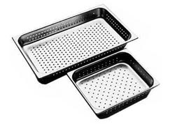 STEAM PAN-FULL 100mm-PERFORATED