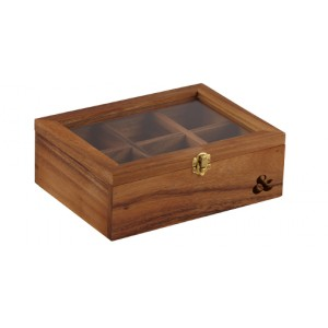 LEAF & BEAN ACACIA TEA BOX